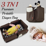 3 in 1 Premium Portable Diaper Bag