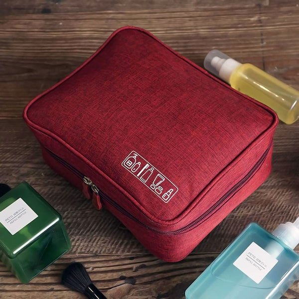 Portable Travel Toiletry Pouch