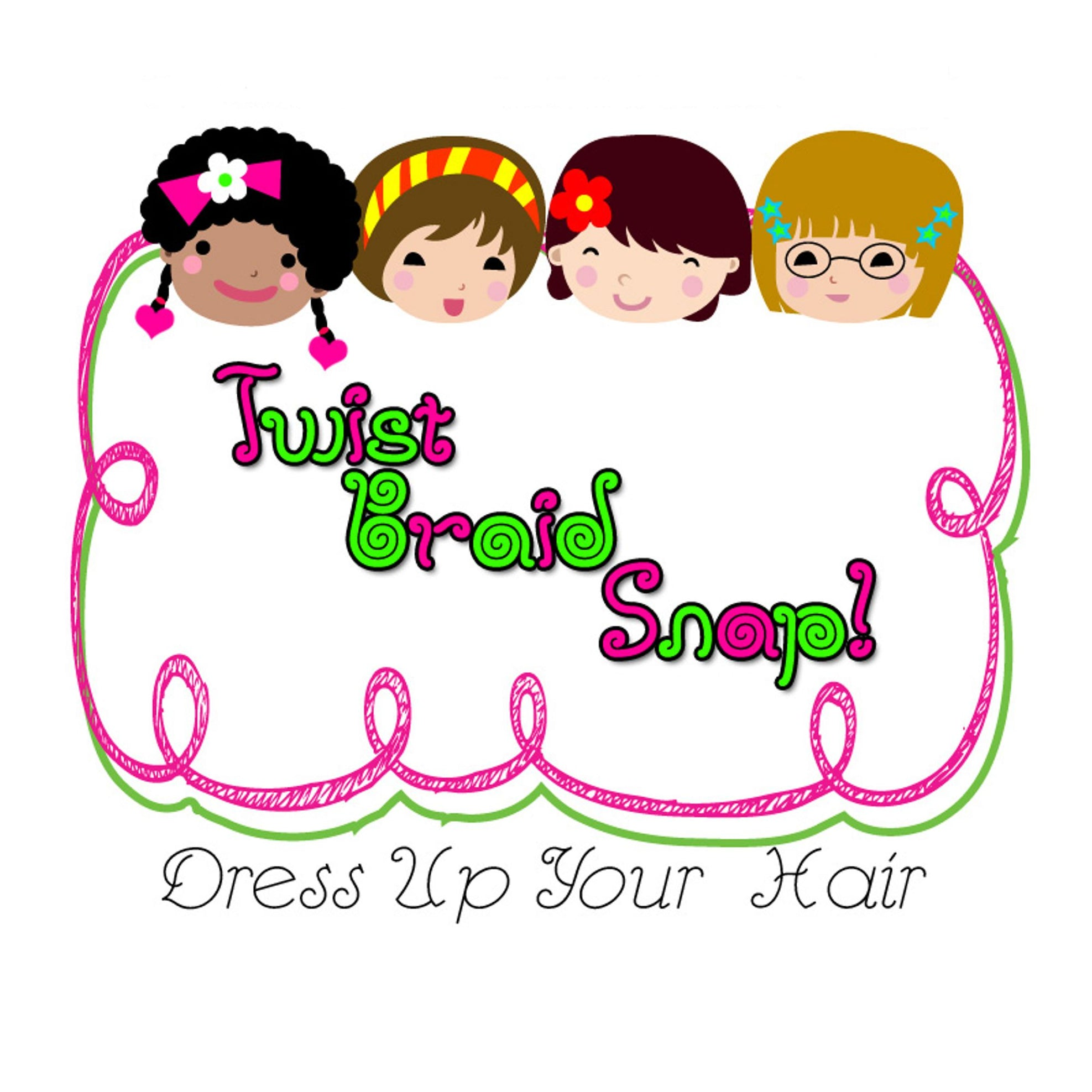 Twist Braid Snap Children's Hair Accessories
