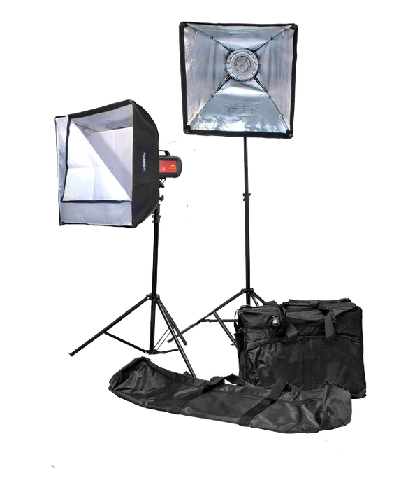 Rimelite Fame 250 (Duo Package) (250 watts) Studio Strobe Light