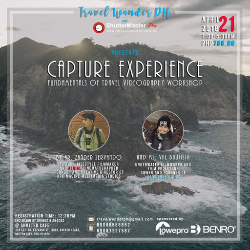 Capture Experience-Fundamentals of Travel Videography Workshop