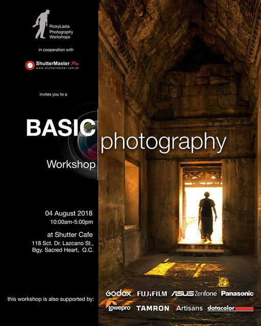 Basic Photography Workshop with Ricky Ladia