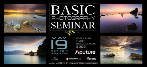 Basic Photography Workshop with Jo Avila