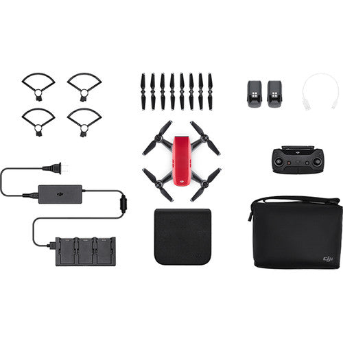 DJI Spark Fly More Combo (Lava Red) By order Basis