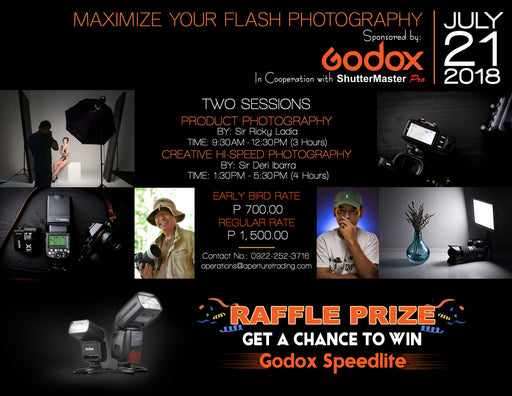 Maximize your Flash Photography Seminar