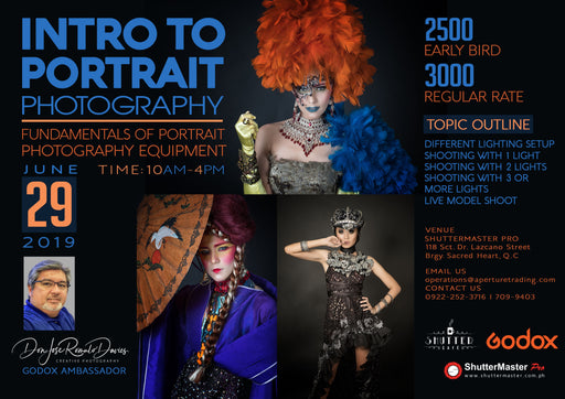 Intro to Portrait Photography | Fundamentals of Portrait Photography Equipment Seminar by: Don Davies