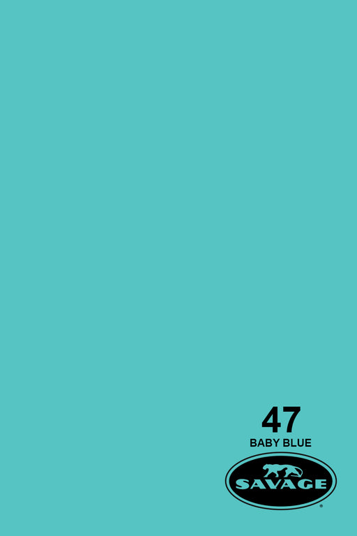 Savage Widetone Seamless Background Paper (#47 Baby Blue, 9ft x 36ft)
