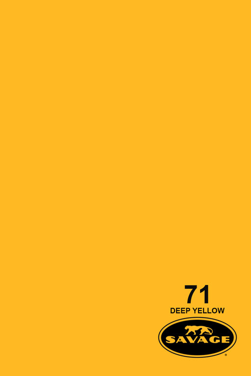 Savage Widetone Seamless Background Paper (#71 Deep Yellow, 9ft x 36ft)