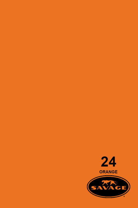 Savage Widetone Seamless Background Paper (#24 Orange, 9ft x 36ft)
