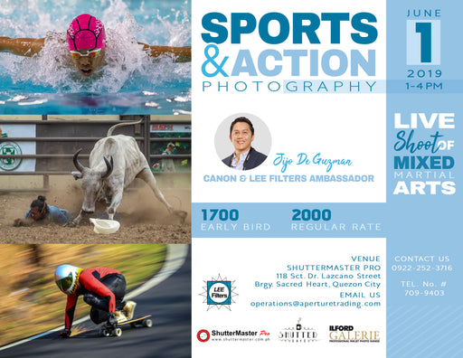 SPORTS AND ACTION PHOTOGRAPHY SEMINAR by: Jijo De Guzman