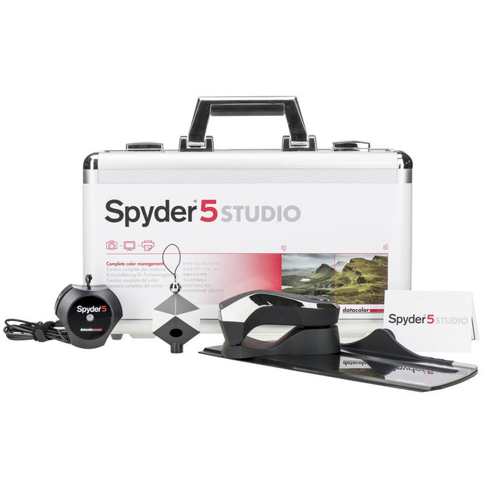Datacolor Spyder 5 STUDIO Color Calibration Bundle