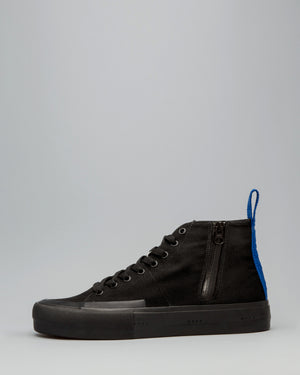 CANVAS HIGH WRAP TOE <br />Black/Black/OBRA Blue
