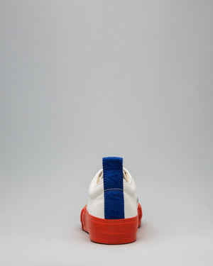 CANVAS LOW FULL CAP <br/>White/Utility Orange/OBRA Blue