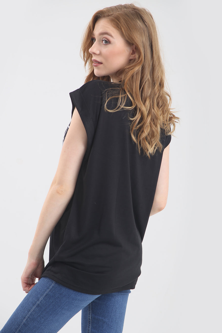 'Dramatic' Relaxed Fit Black Slogan T-Shirt - bejealous-com