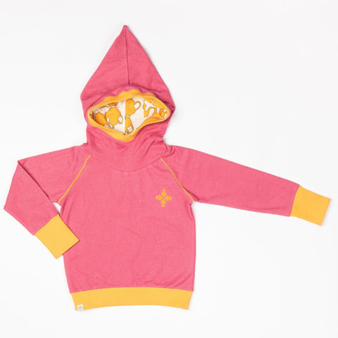 Alba Habian Hoodie - Rapture Rose - Tilly & Jasper
