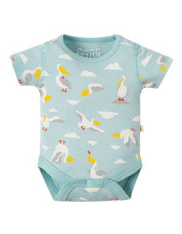Frugi Bailey 2 Pack Body - Pelican Party Multipack
