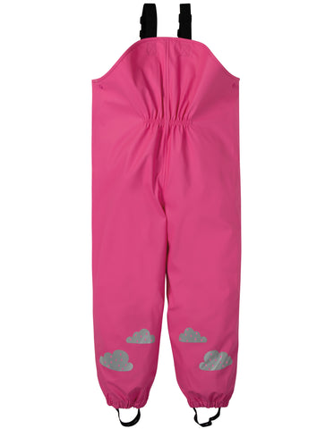 Frugi Puddle Buster Trousers - Flamingo - Tilly & Jasper