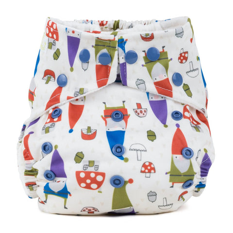 Baba & Boo One Size Nappy - Gnomes - Tilly & Jasper