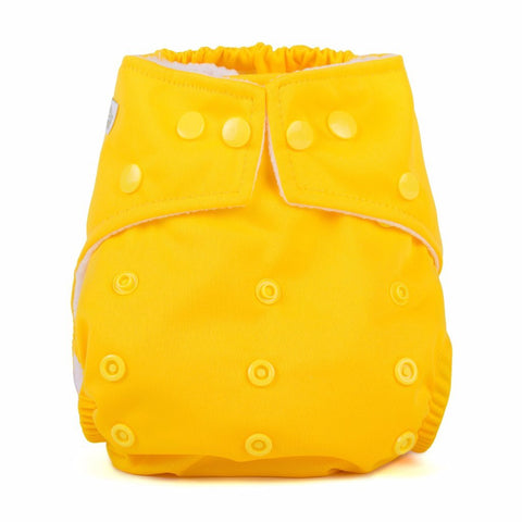 Baba & Boo One Size Nappy - Yellow - Tilly & Jasper