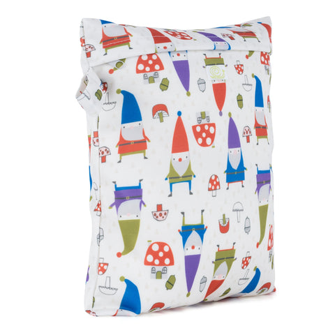 Baba & Boo Gnomes Reusable Nappy Storage Bag (Small) - Tilly & Jasper