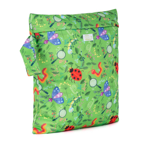 Baba & Boo Nature Detectives Reusable Nappy Storage Bag (Small) - Tilly & Jasper