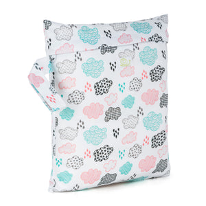 Baba & Boo Rainy Days Reusable Nappy Storage Bag (Small) - Tilly & Jasper