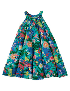 Frugi Tabitha Trapeze Dress - Hothouse Floral - Tilly & Jasper