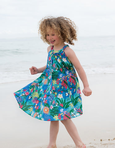 Frugi Tabitha Trapeze Dress - Hothouse Floral