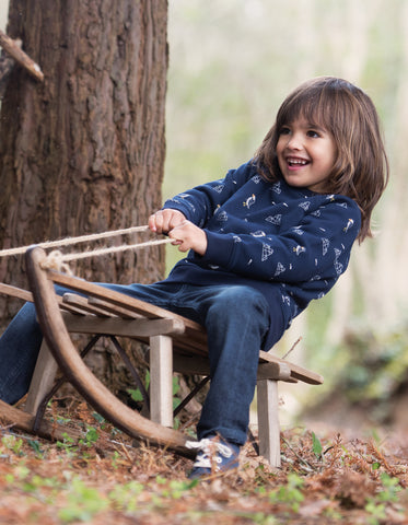 Image of Frugi Rex Jumper - Puffin Island - Tilly & Jasper