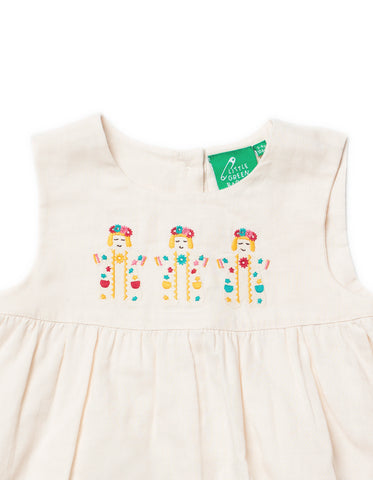LGR Embroidered Dress - Festival Dancers