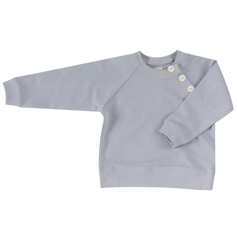 Pigeon Organics Summer Sweatshirt - Pale Blue