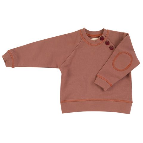 Pigeon Organics Summer Sweatshirt - Walnut