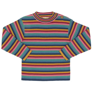 Kite Rainbow Stripe Jumper - Tilly & Jasper