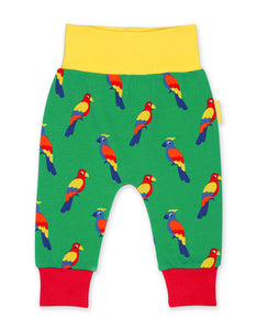 Toby Tiger Parrot Yoga Pants