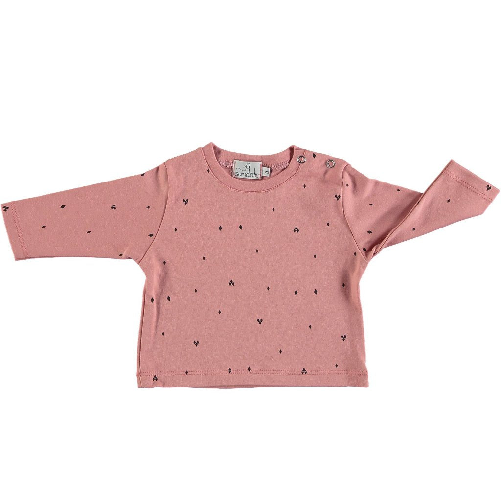 Suindiatic Wine Diamond Baby Shirt