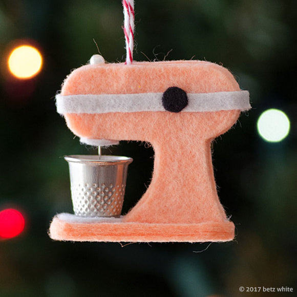 Kitchen Mixer Ornament PDF PATTERN