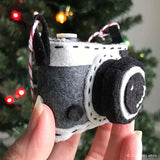 Say Cheese! Camera Ornament PDF PATTERN