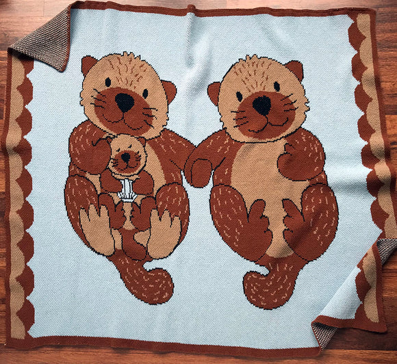 Eco-tot Blanket: Otter (Last chance, only one left!)