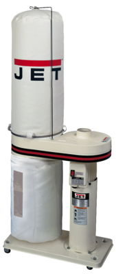 JET DC-650 1HP Dust Collector with 30 Micron Filter Bags