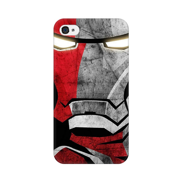 Apple iPhone 4s Red Soldier Phone Cover & Case