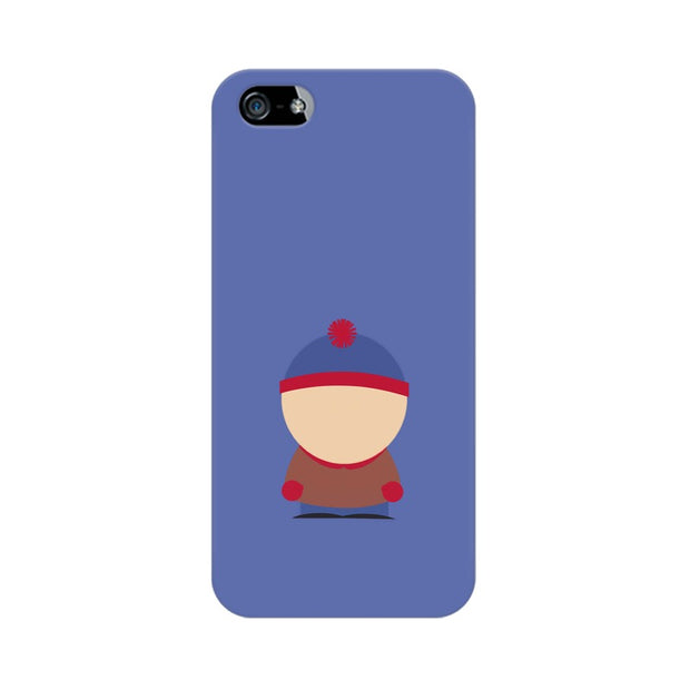 Apple iPhone 5s Stan Marsh Minimal South Park Phone Cover & Case