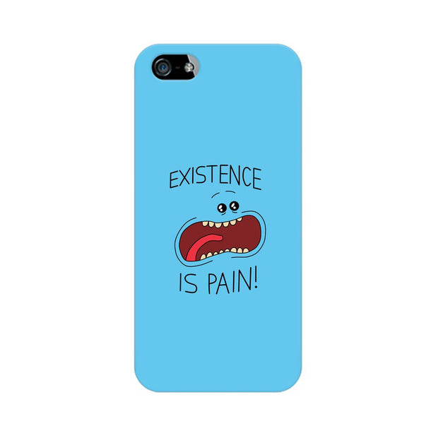 Apple iPhone 5s Existence Is Pain Mr Meeseeks Rick & Morty Phone Cover & Case