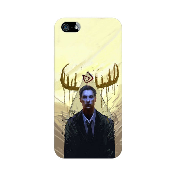 Apple iPhone 5s True Detective Rustin Fan Art Phone Cover & Case