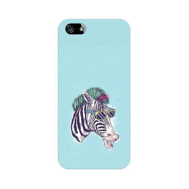 Apple iPhone 5s The Zebra Style Cool Phone Cover & Case