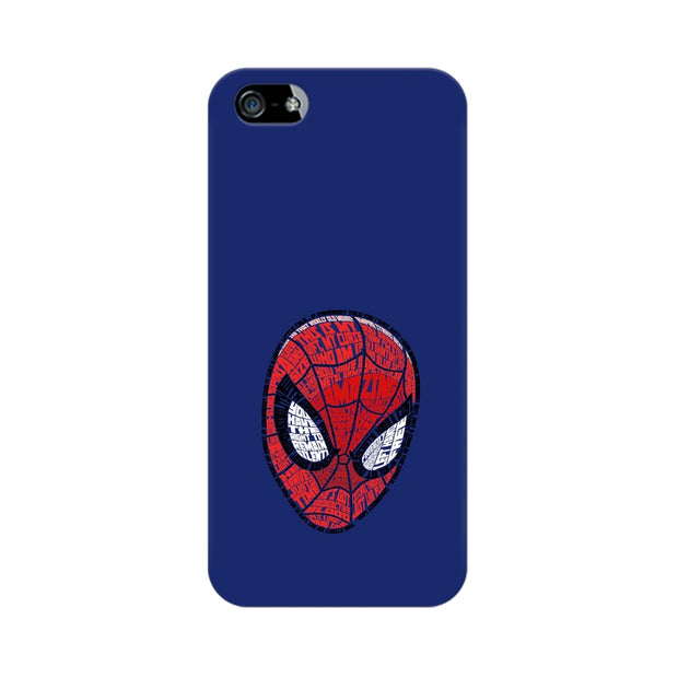 Apple iPhone 5s Spider Man Graphic Fan Art Phone Cover & Case