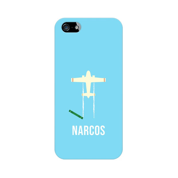 Apple iPhone 5s Narcos TV Series  Minimal Fan Art Phone Cover & Case
