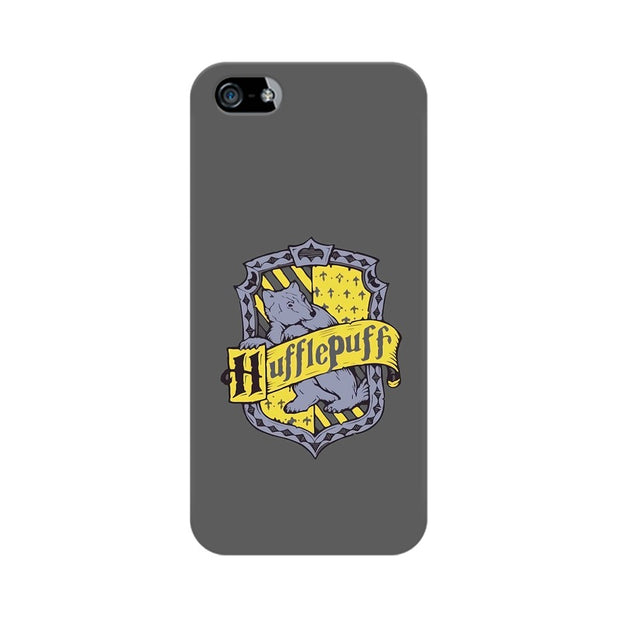 Apple iPhone 5s Hufflepuff House Crest Harry Potter Phone Cover & Case