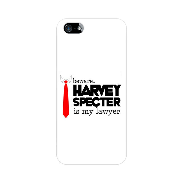 Apple iPhone 5s Harvey Spectre Is My Lawyer Suits Phone Cover & Case