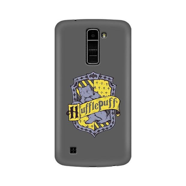 LG K7 Hufflepuff House Crest Harry Potter Phone Cover & Case