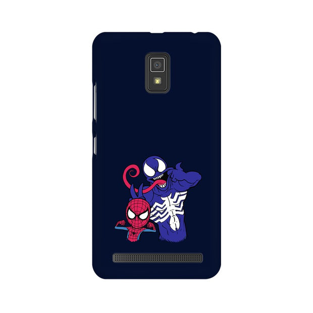 Lenovo A6600 Spider Man & Venom Funny Phone Cover & Case